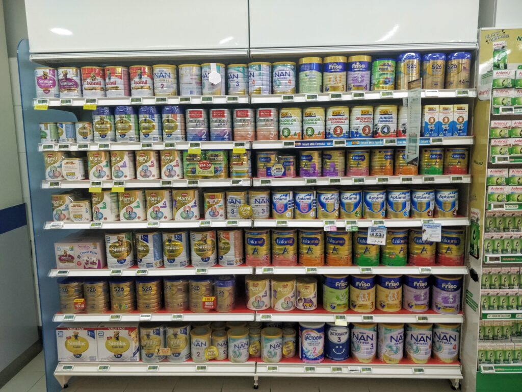 FairPrice - Infant Nutrition Shelf