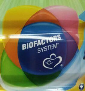 Wyeth S-26 Proprietary nutrition marketing message: 'biofactors system'.