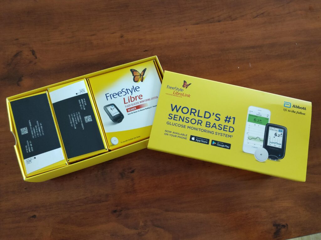 Unboxing a FreeStyle Libre Continuous Glucose Monitor